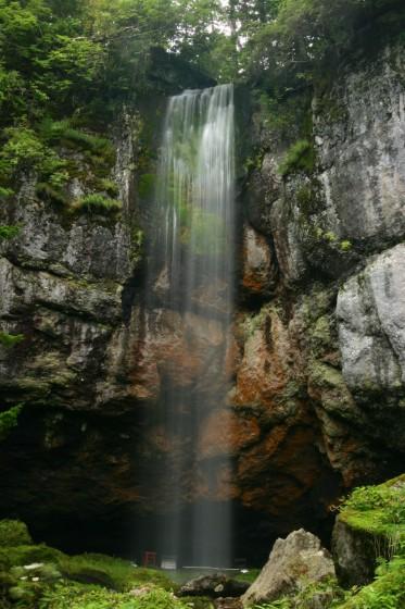 遠軽町丸瀬布 山彦の滝 2006年9月撮影
