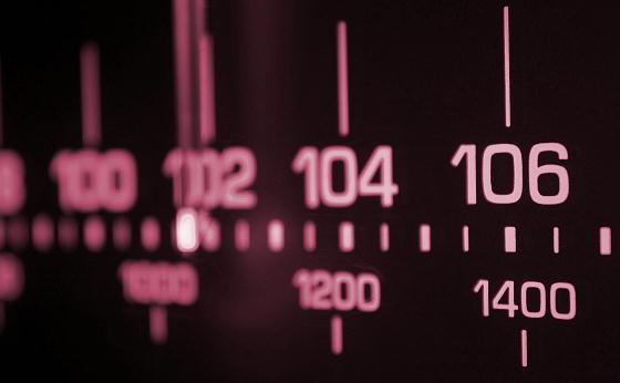 ラジオのチューニング
