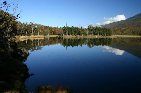 「二湖」 知床五湖の2番目の湖 2005年撮影