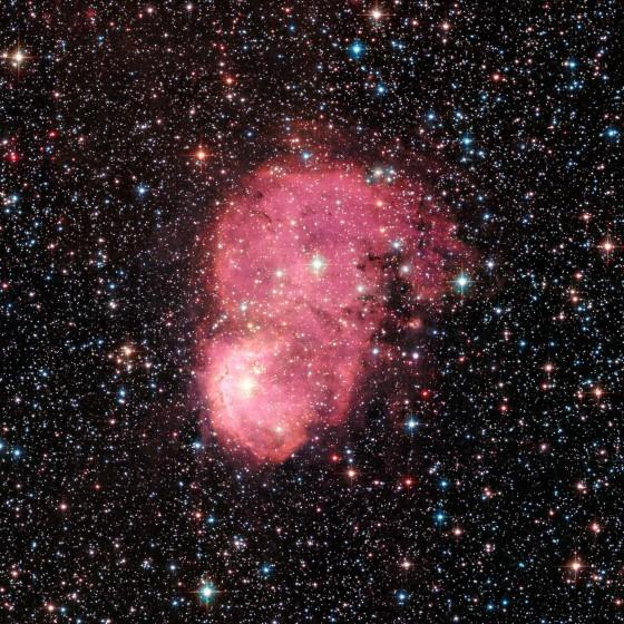 小マゼラン雲の写真(ハッブル望遠鏡による) 引用元:hubblesite.org