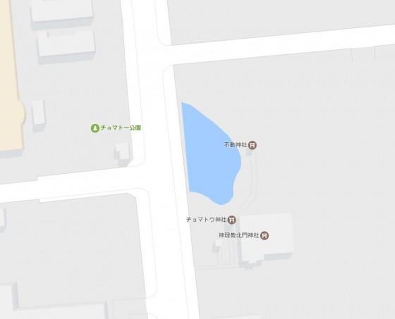 チョマトー地図  GoogleMapより引用
