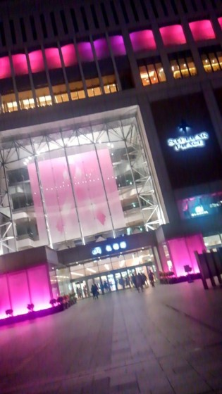 10月初旬に撮影した札幌駅
