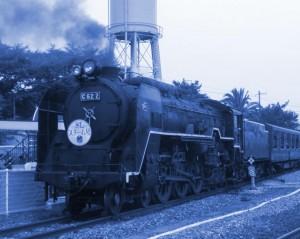 C62型蒸気機関車 本作とはまったく関係ありません